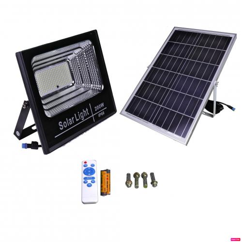 Proyector led solar NATURE 200W panel separado batería litio