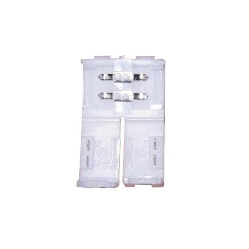 Conector tira led 10 mm 2 contactos presión IP20