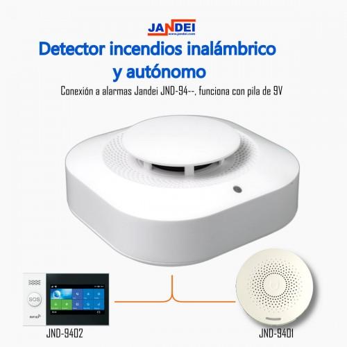 Detector de incendios para alarma Tuya Smart