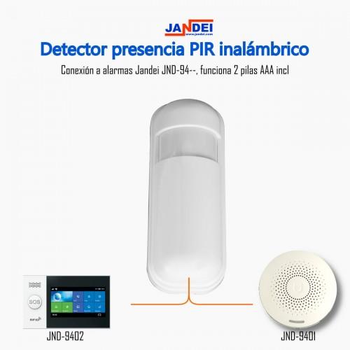 Detector de presencia PIR inalámbrico Alarma TUYA Smart