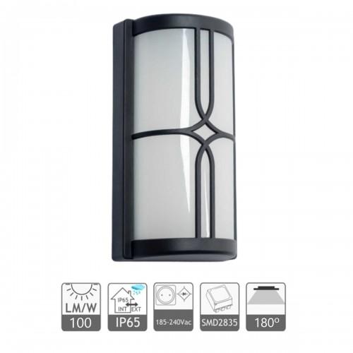 """Aplique LED pared """"Auckland"""" 20W de exterior IP65 3000K"""