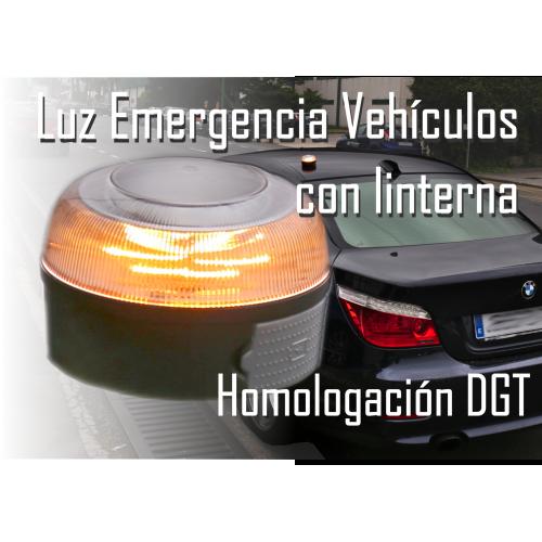 Luz de emergencia V16 para vehículos homologda y autorizada DGT