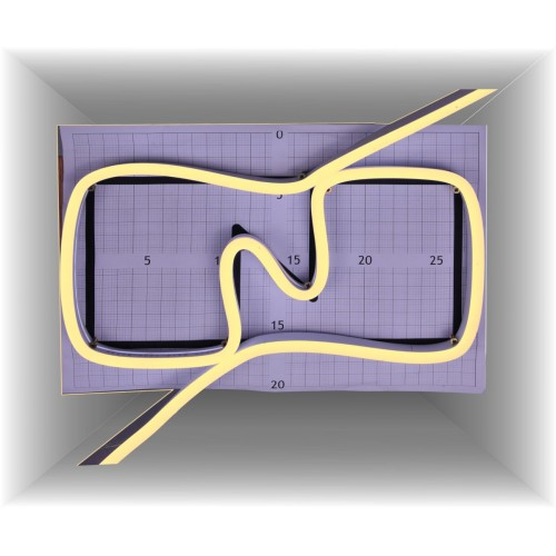 Neon led al corte flexible simple 12V 3000K 8mm 8W