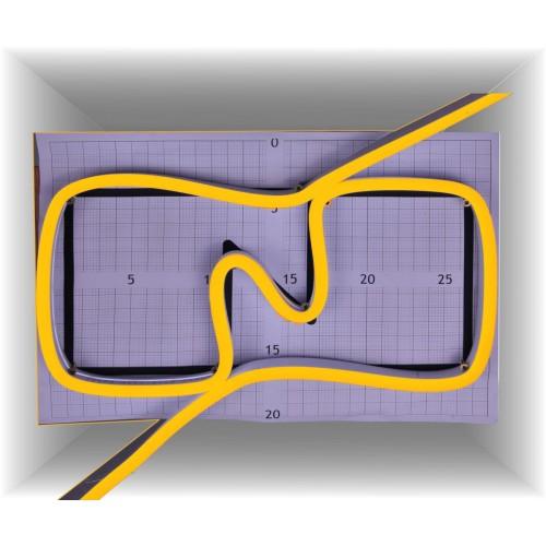 Neon led al corte flexible simple 12V 2700K 8mm 8W