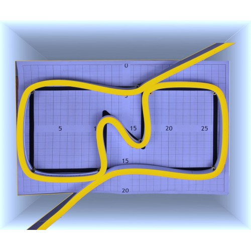 Neon led al corte flexible simple 12V 1700K 8mm 8W