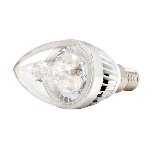 Bombilla LED vela E14 3W 3000K blanco cálido