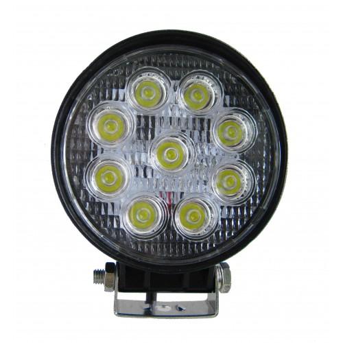 Foco LED 12/32 VDC 27W  para VEHICULOS  60º