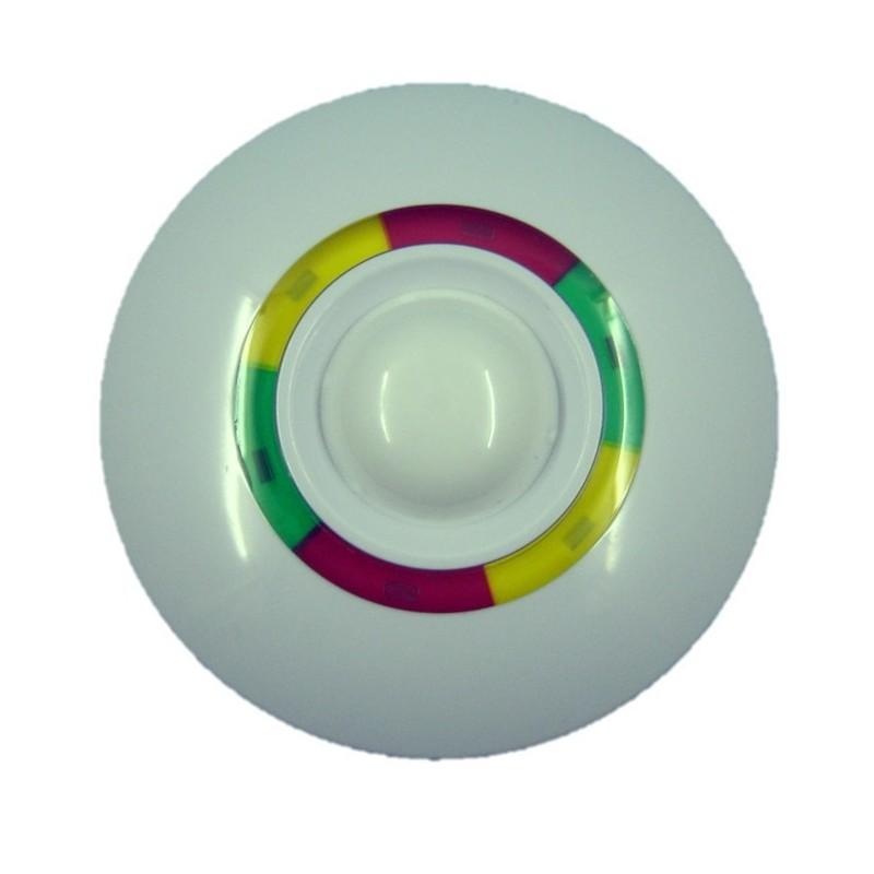 Detector alarma 360º PIR doble tecnología 10 mts DMT