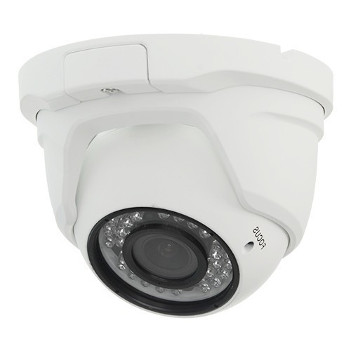 Minidomo 4 en 1 720P exterior 2,8-12mm infrarrojos OSD blanco