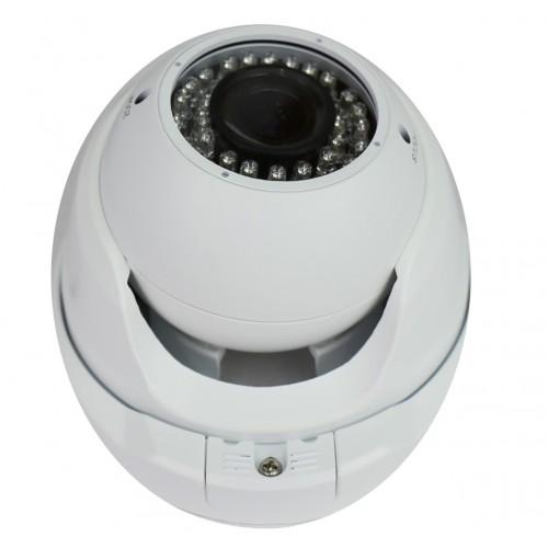 Minidomo 4 en 1 1080P exterior 2,8-12mm infrarrojos UTC blanco