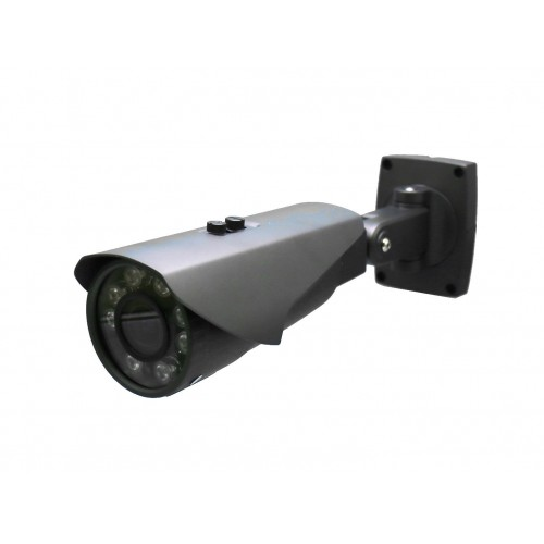 Camara Bullet 4 en 1 720P exterior 3,6-10mm infrarrojos OSD gris