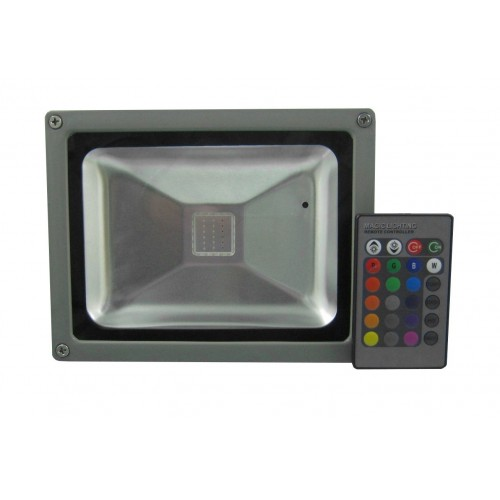 Proeyctor LED 50W RGB con mando a distancia