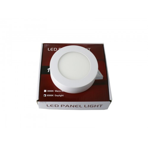 Downlight led 6W 6000ºK redondo superficie blanco