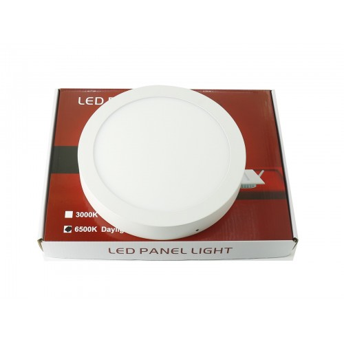 Downlight led superfice 12W redondo blanco 6000ºK