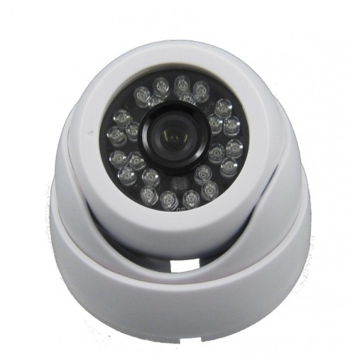 Minidomo 4 en 1 1080P interior 3,6mm infrarrojos OSD blanco