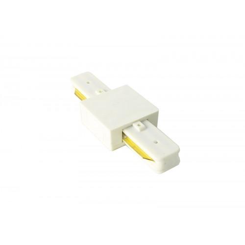 Conector tipo I para carril monofásico blanco