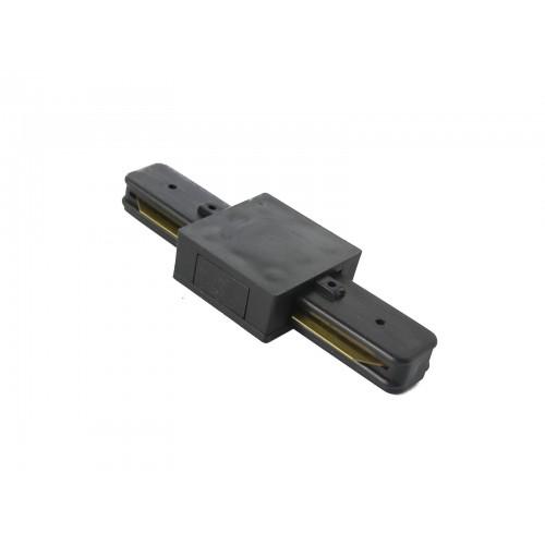 Conector tipo I para carril monofásico negro