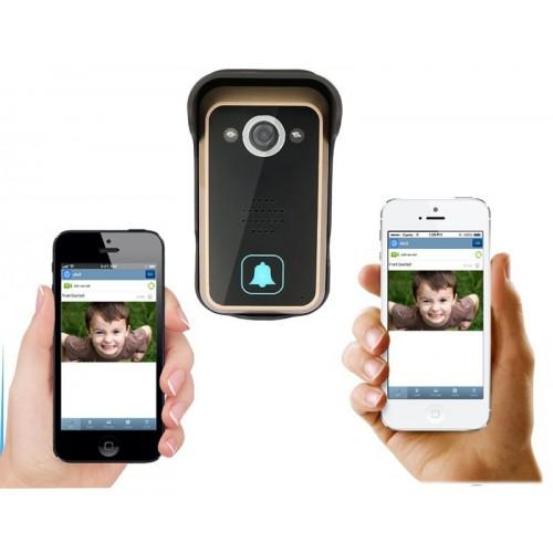 Video portero controlado desde su teléfono móvil, WIFI