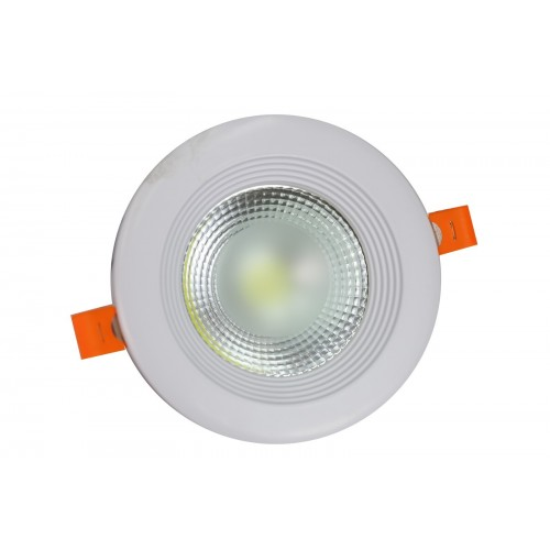 Downlight led COB 10W 4200ºK redondo empotrar blanco