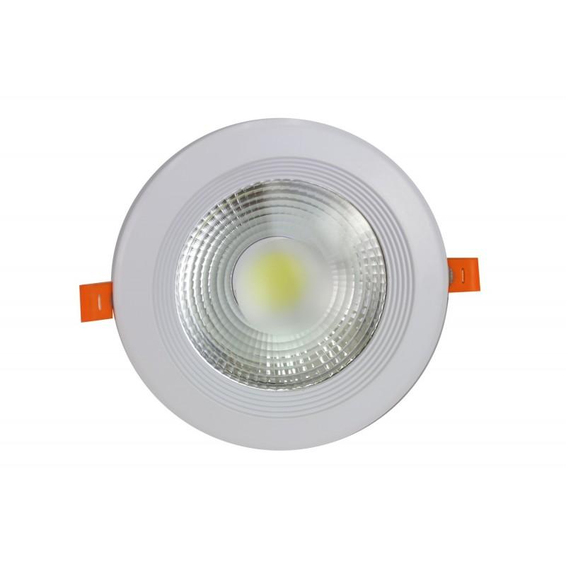 Downlight led COB 15W 6000ºK redondo empotrar blanco