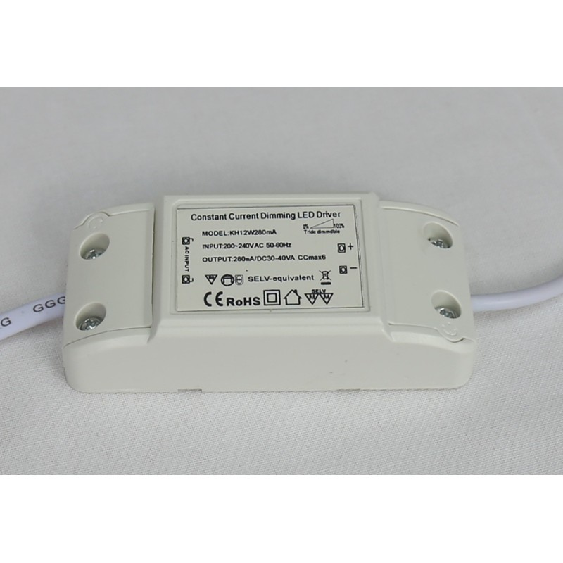 Driver downlight led Dimable / regulable 8W - 12W
