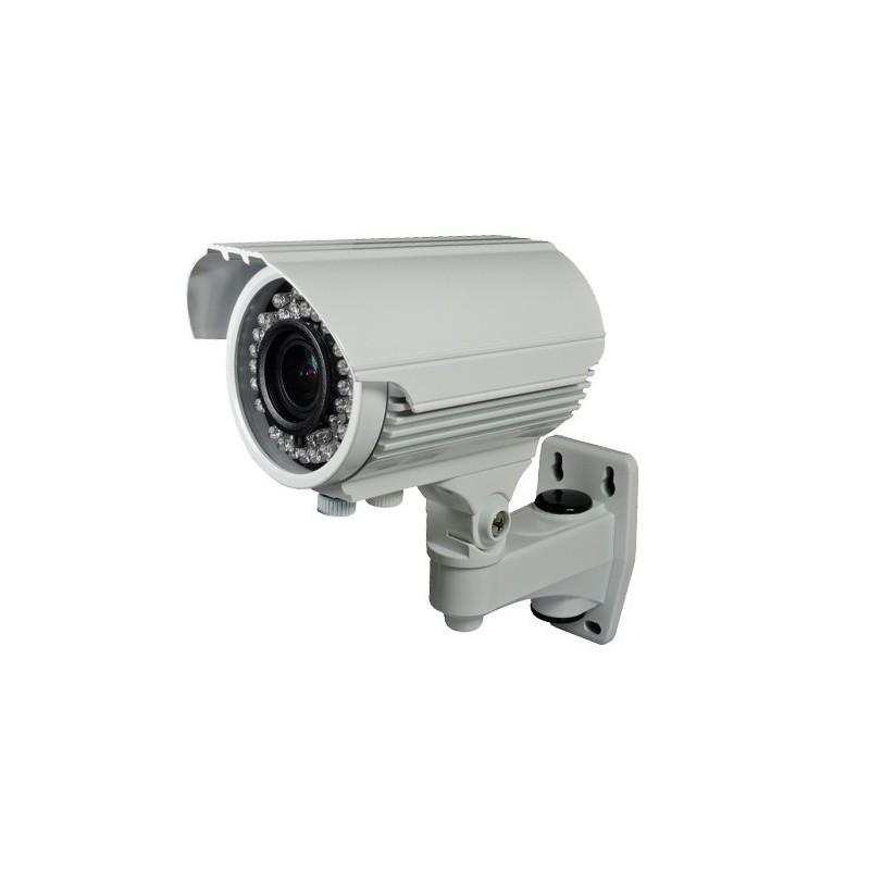 Cámara Bullet Tvi - Analogica 1080P Exteiror 2,8-12mm, IR 40m Blanca