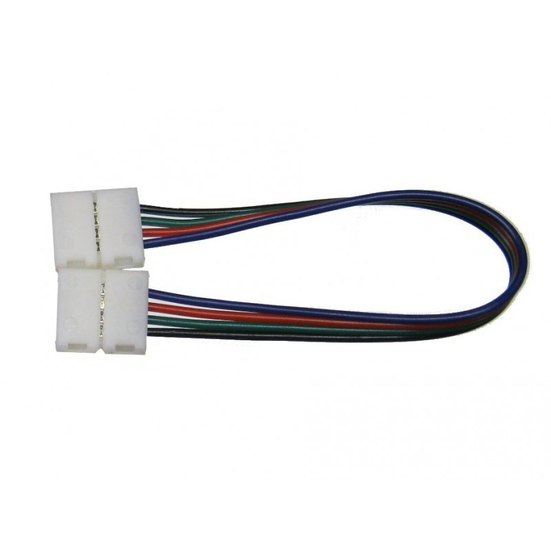 Cable RGB 10mm unión 2 conectores cable 15cm