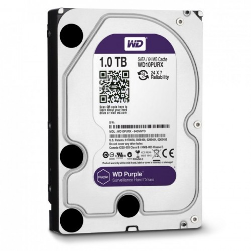 Disco duro WD Purple 1TB para videograbador
