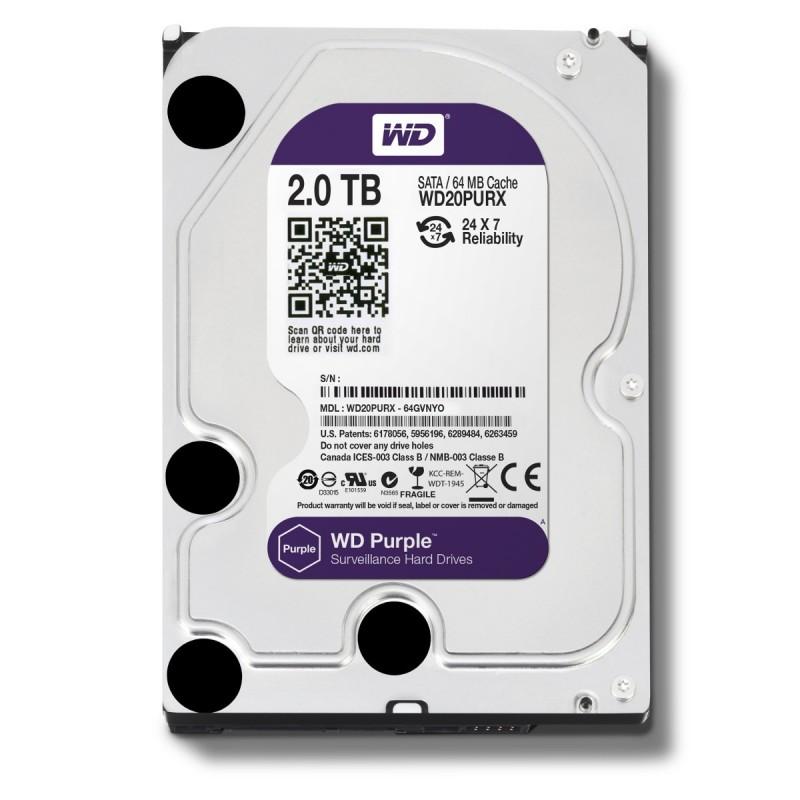 Disco duro WD Purple 2TB para videograbador