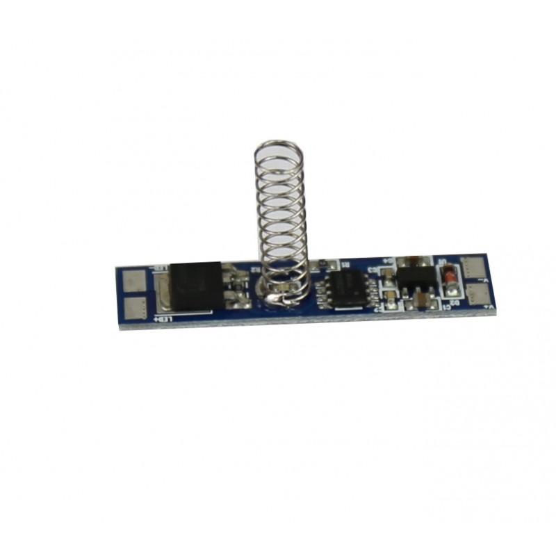Interruptor regulador pcb tira led 12v 24v 96w for Regulador para led