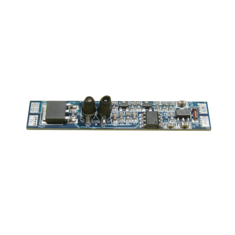 Interruptor por infrarrojos en PCB para tira led 12/24V DC 96W