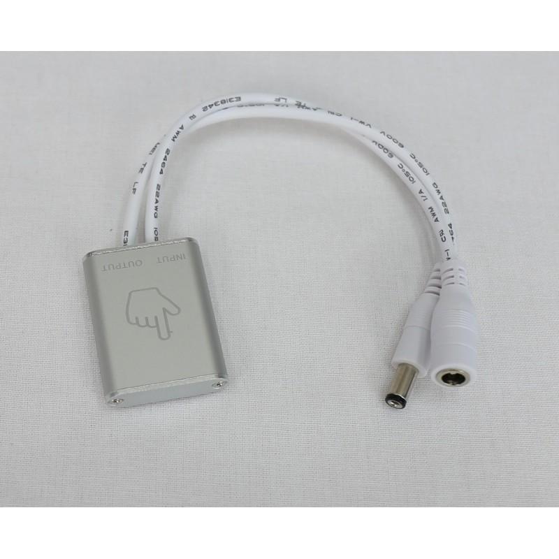 Interruptor regulador táctil superficie dimmer 12/24V DC 48W