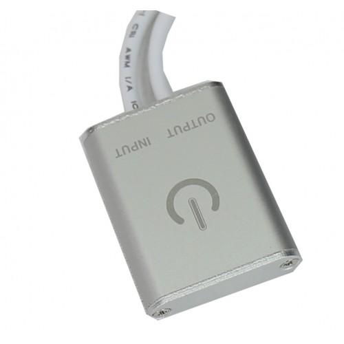 Interruptor regulador táctil superficie/oculto 12/24V DC 48W