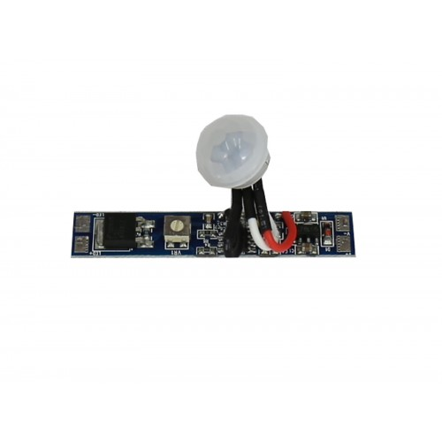 Interruptor por movimiento temporizado para tira led 12/24V DC 96W