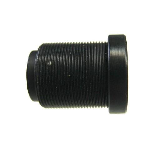 Optica fija 3,6 mm para minidomos y módulos CCD