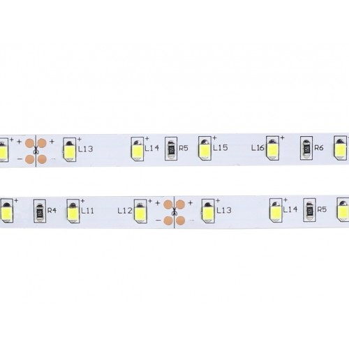 Tira led 24V 6000ºK 60leds Doble PCB IP20 SMD2835 Bobina 5 mts
