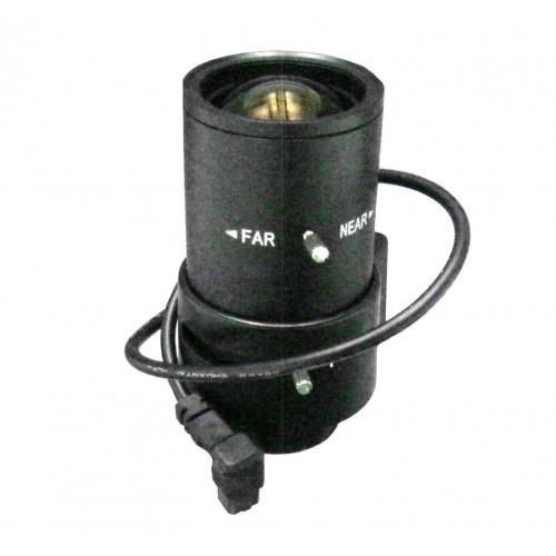 optica varifocal 6-60mm para camara videovigilancia CCD 1/3 C/CS