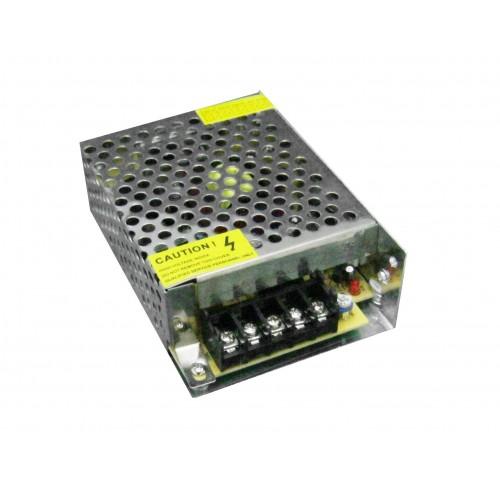 Trasformador 12VDC 5A-60W de interior IP20
