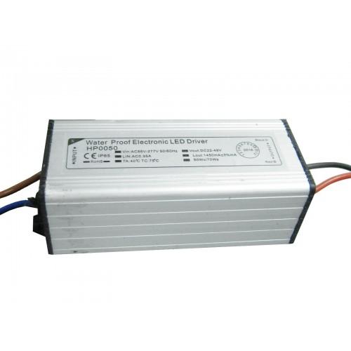 Driver LED 50W para campanas y focos LED exterior IP65