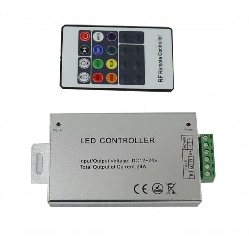 Mando a distancia control RGB inalámbrico 12V/24V 288W