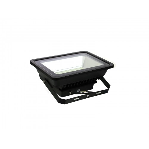 Proyector led slim 150W exterior IP65 SMD5730 6000K negro