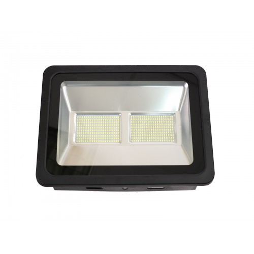 Proyector led slim 200W exterior IP65 SMD5730 6000K negro