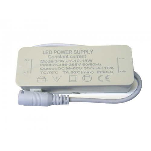 Driver Downlight 12-18W. No dimable IP20 PF 0.9