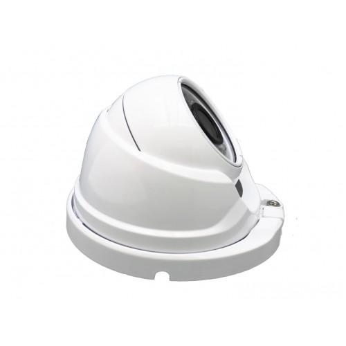 Minidomo 4 en 1 1080P exterior 3,6mm infrarrojos OSD blanco