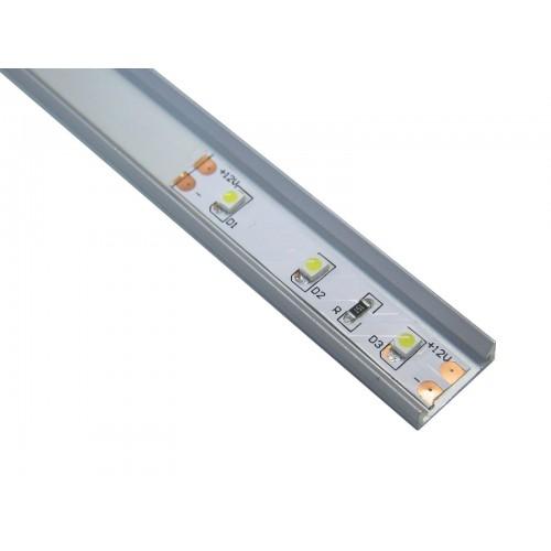 Perfil tira led superficie 14 x 5 mm