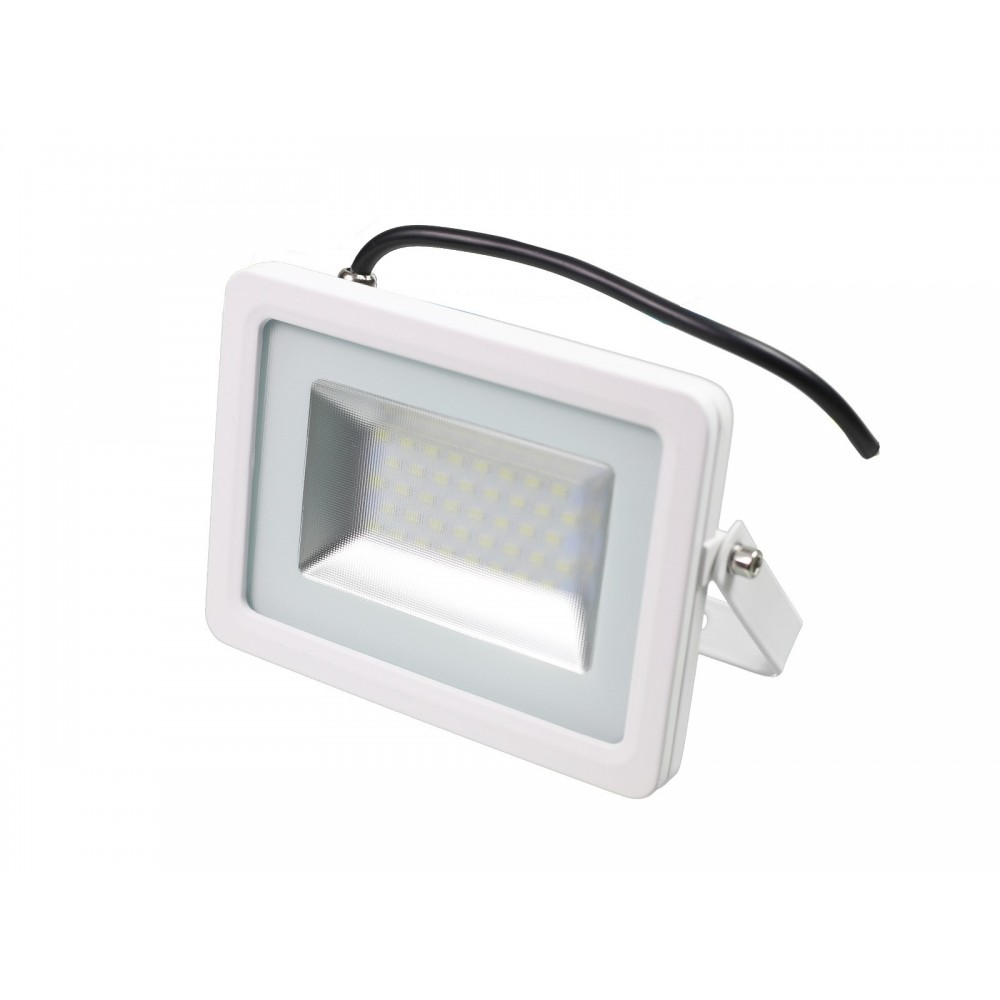 f6d41bf65 ... Proyector foco led 30W Slim SMD5730 blanco 6000K exterior IP65 ...