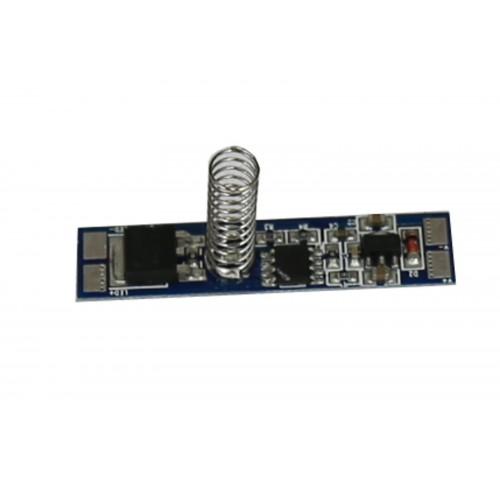 Interruptor y regulador 4 pasos táctil PCB tira led 12/24V DC 96W