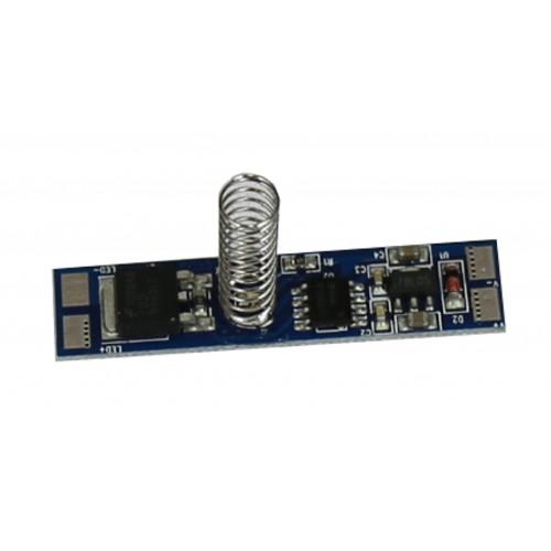 Interruptor y regulador táctil PCB tira led con 12/24V DC 96W