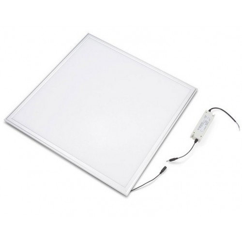Panel led 60 x 60 cm 48W bridgelux 6000ºK marco blanco