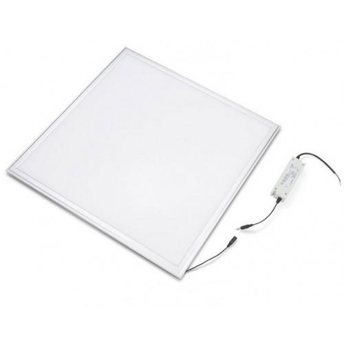 Panel led 60 x 60 cm 48W bridgelux 6000ºK marco blanco